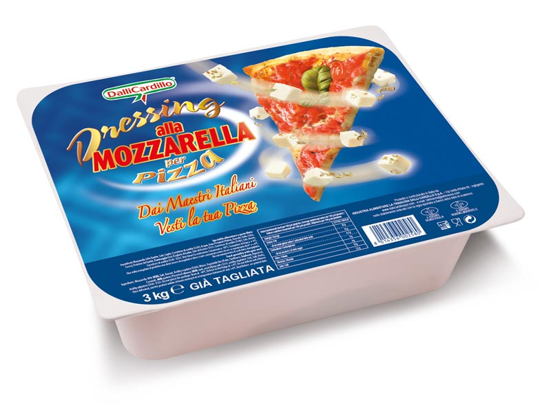 SA Dressing pizza sfil/cub 3 Kg