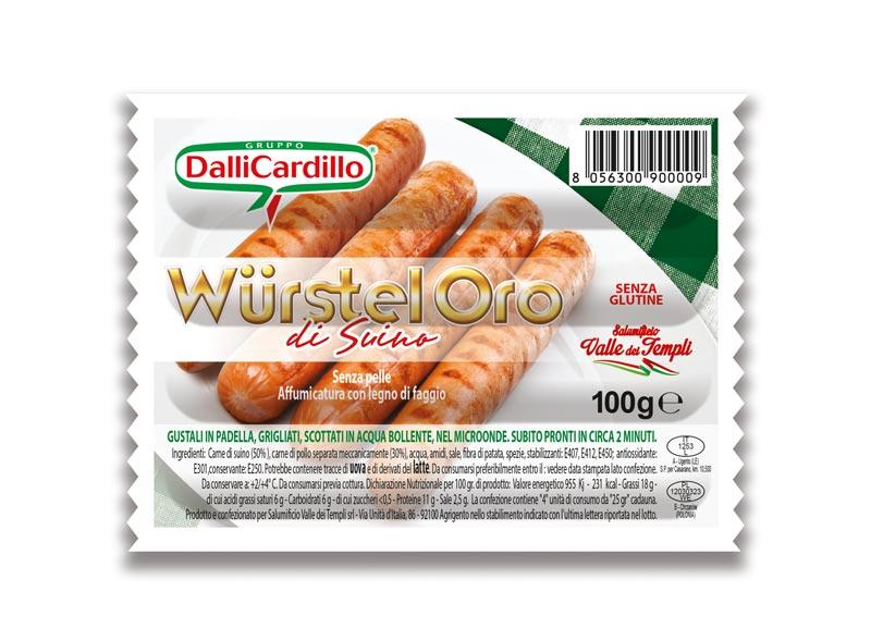 Wurstel x4 100 g