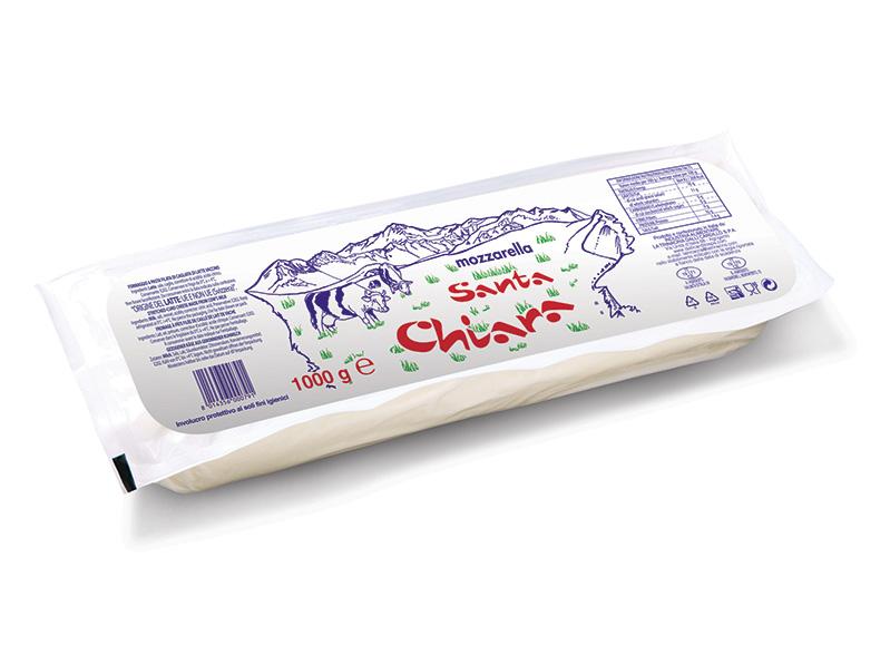 Mozzarella Santa Chiara Hard 1 Kg
