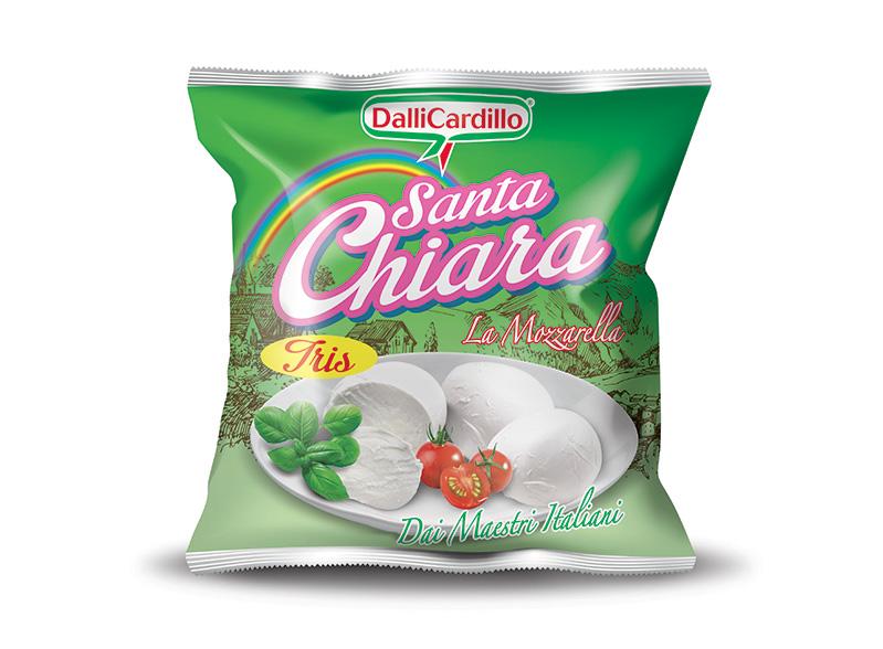 Mozzarella Santa Chiara Tris 270 g