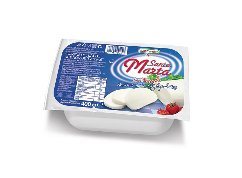 Mozzarella Santa Marta 400 g