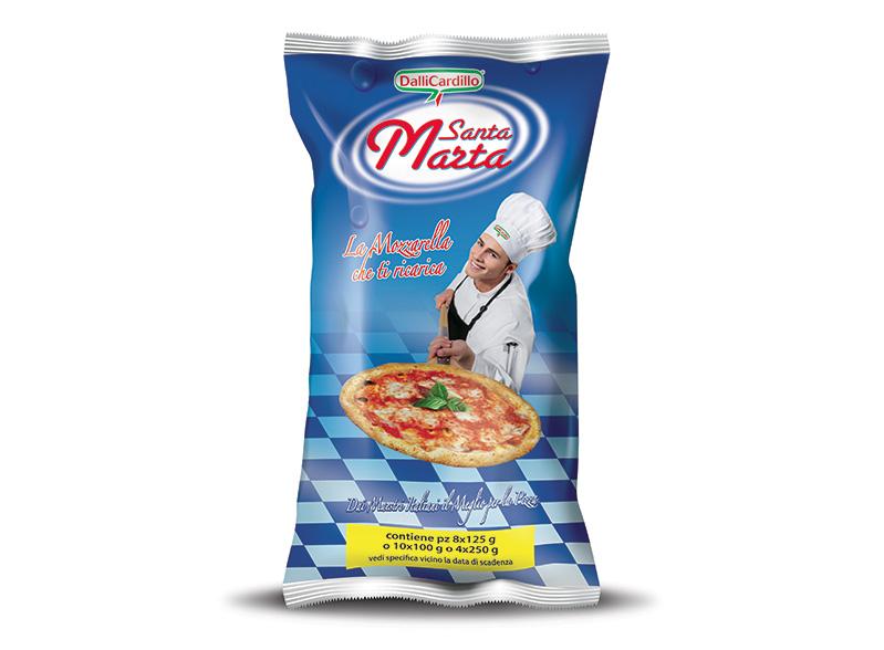 Mozzarella Santa Marta 100-125-250 g - in busta da 1 Kg