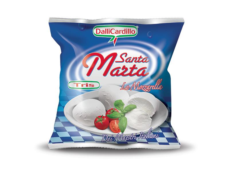 Mozzarella Santa Marta Tris 270 g