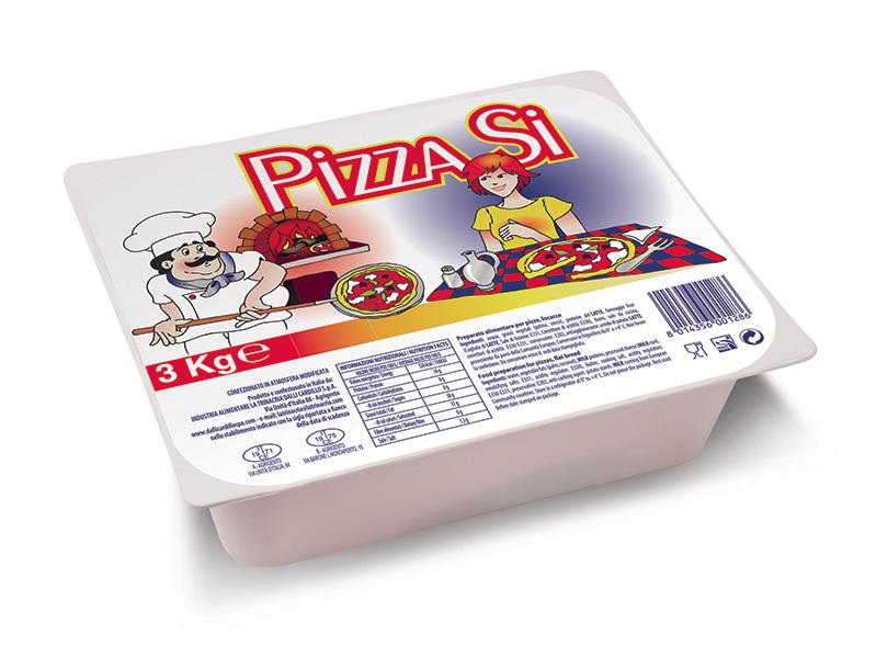PA Pizzasi cubettata 3 Kg