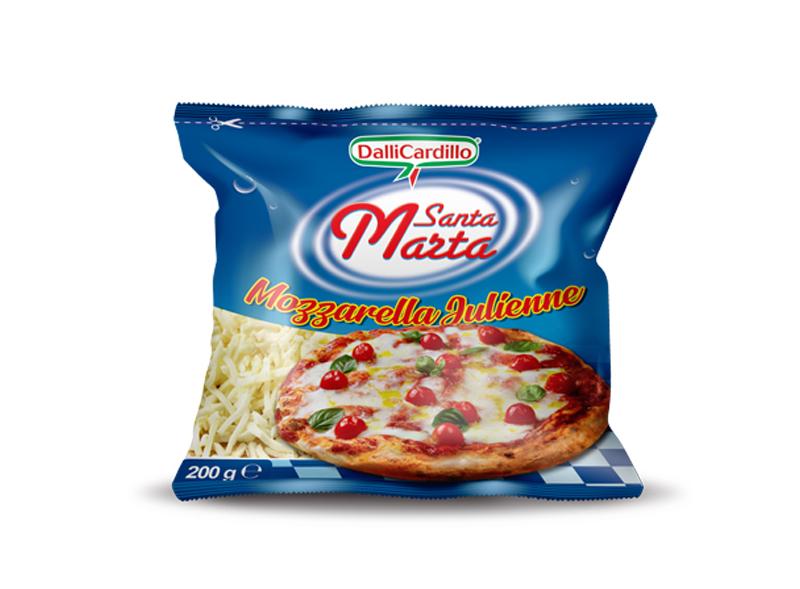 Mozzarella Santa Marta Sfil/Cub 200 g