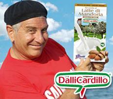 Latte di mandorla Dalli Cardillo, la bonta' raddoppia!