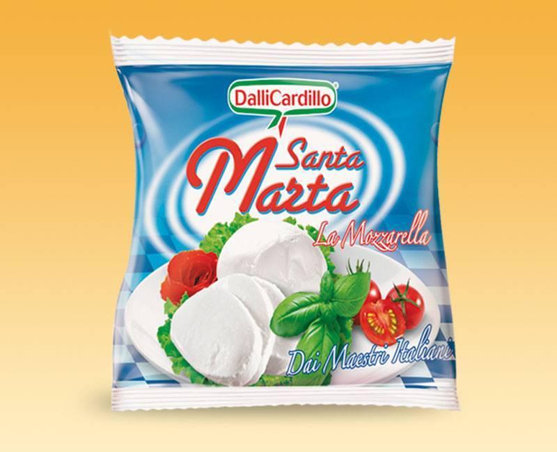 Leggi tutto: Mozzarella Santa Marta 100 g