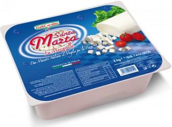 Leggi tutto: Mozzarella Santa Marta Blu sfil/cub 3 Kg