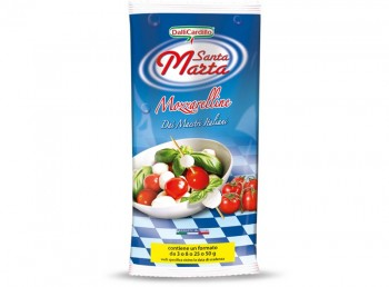 Leggi tutto: Santa Marta Mozzarelline 3-8-25-50 g in busta da 1 Kg