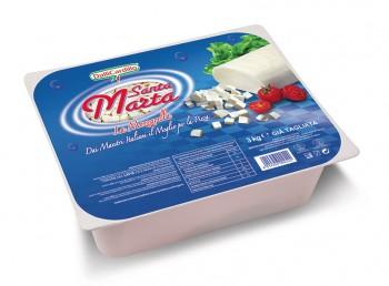 Leggi tutto: Mozzarella Santa Marta sfil/cub 3 Kg