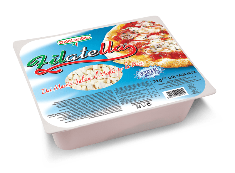 Filatella - A stringy pleasure on your pizza