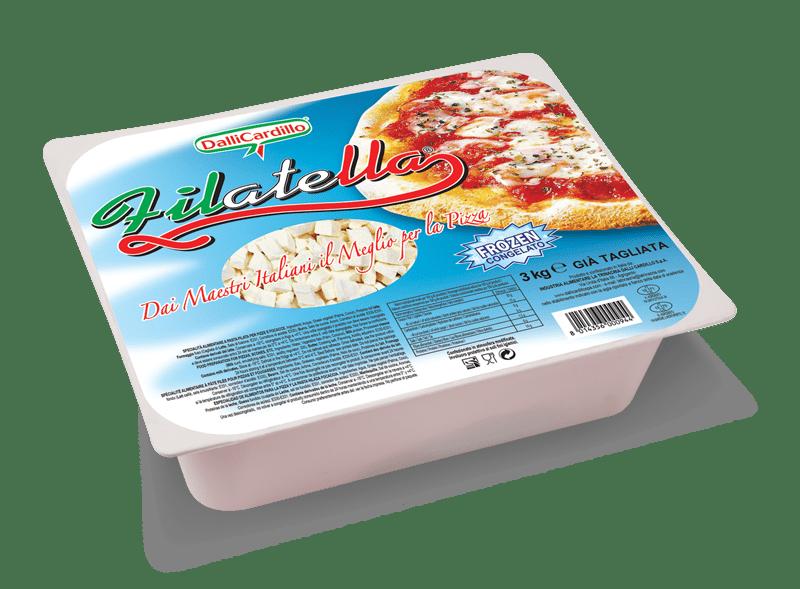 Filatella il Piacere Filante sulla Pizza